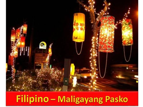 christmas in the philippine context essay