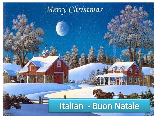 Day 325 – Merry Christmas: Italian | MyGratitudeLife