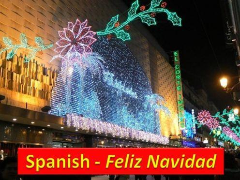 Merry Christmas In Spanish.Day 321 Merry Christmas Spanish Mygratitudelife
